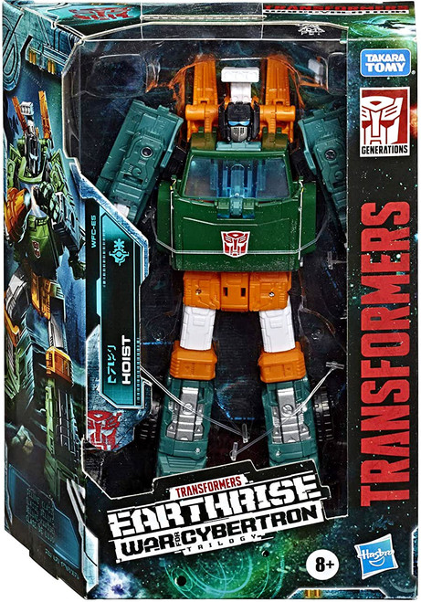 Transformers Generations War for Cybertron: Earthrise Hoist Deluxe Action Figure WFC-E5