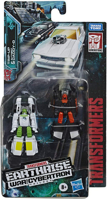 Transformers Generations Earthrise: War for Cybertron Trilogy Autobot Daddy-O & Trip-Up Micromaster Action Figure 2-Pack WFC-E3 [Hot Rod Patrol]