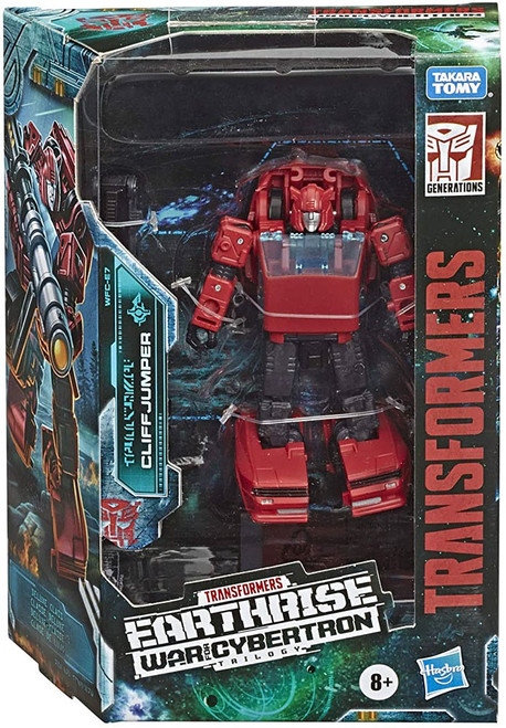 Transformers Generations Earthrise: War for Cybertron Trilogy Cliffjumper Deluxe Action Figure WFC-E7