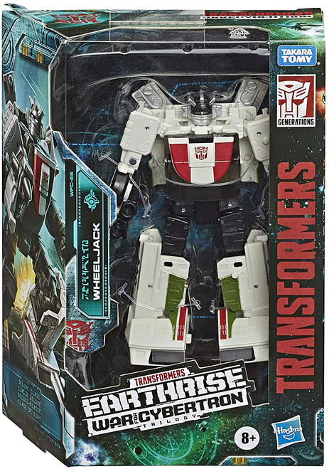 Transformers Generations War for Cybertron: Earthrise Wheeljack Deluxe Action Figure WFC-E6