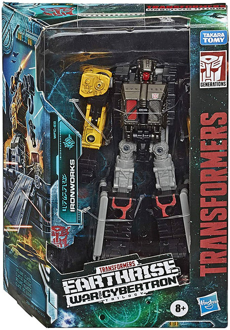 Transformers Generations Earthrise: War for Cybertron Trilogy Ironworks Deluxe Action Figure WFC-E8