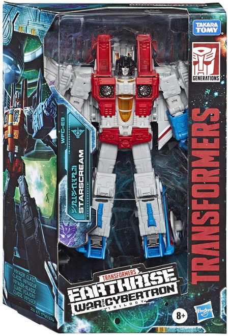 Transformers Generations War for Cybertron: Earthrise Starscream Voyager Action Figure WFC-E9 (Pre-Order ships December)