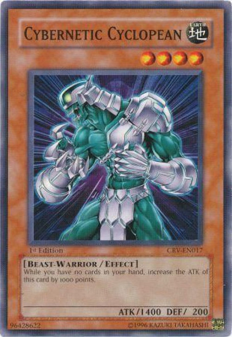 YuGiOh Cybernetic Revolution Common Cybernetic Cyclopean CRV-EN017