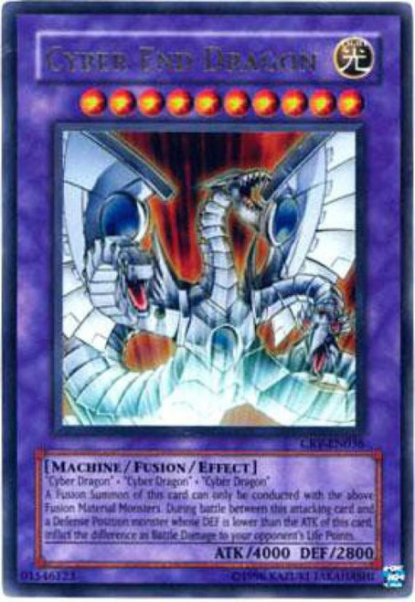 YuGiOh Cybernetic Revolution Ultra Rare Cyber End Dragon CRV-EN036