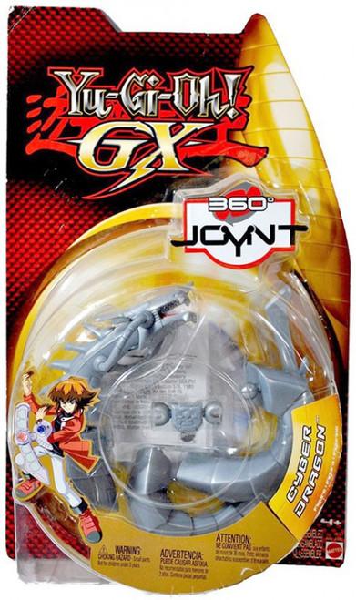 YuGiOh GX Trading Card Game 360 Joynt Series 1 Cyber Dragon Action Figure