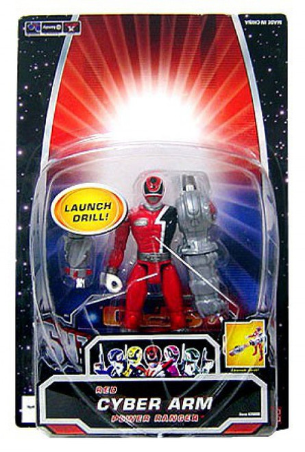 Power Rangers SPD Red Cyber Arm Ranger Action Figure