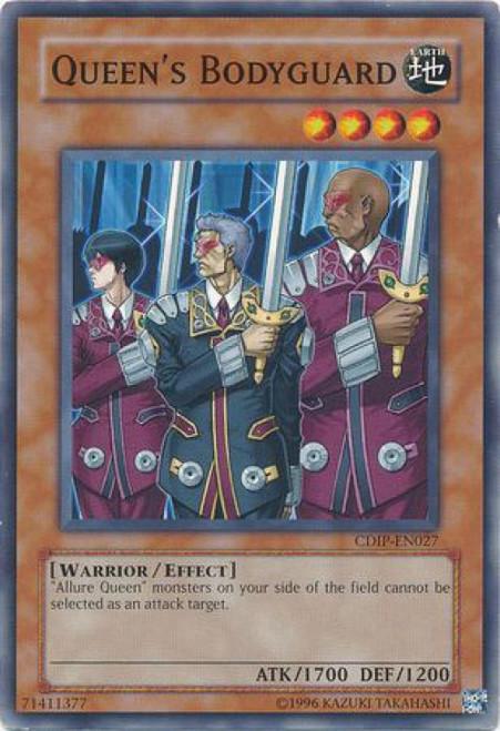 YuGiOh GX Trading Card Game Cyberdark Impact Common Queen's Bodyguard CDIP-EN027