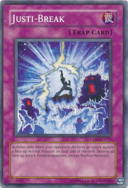 YuGiOh GX Trading Card Game Cyberdark Impact Common Justi-Break CDIP-EN051