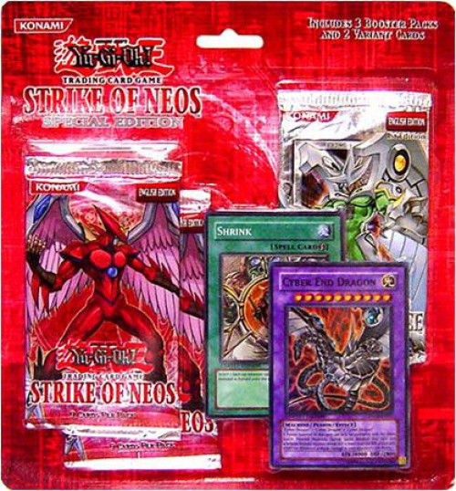 YuGiOh Trading Card Game Strike of Neos Special Edition