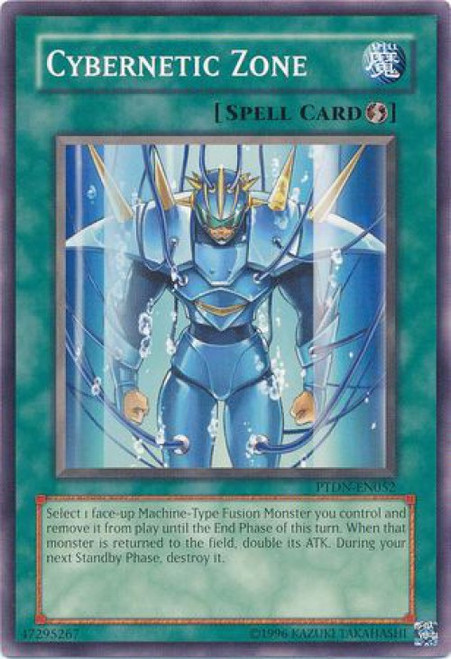 YuGiOh GX Phantom Darkness Common Cybernetic Zone PTDN-EN052