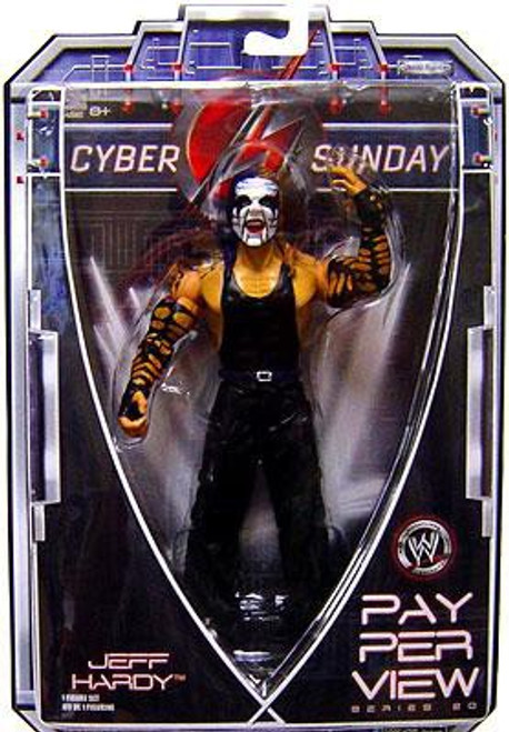 WWE Wrestling Pay Per View Series 20 Cyber Sunday Jeff Hardy Action Figure