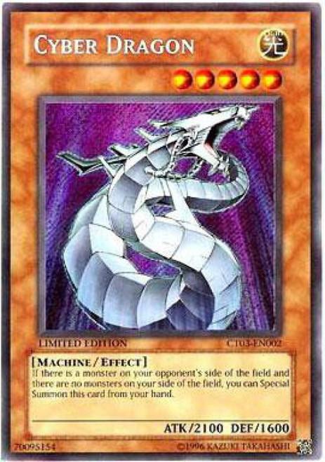 YuGiOh 2006 Collector Tin Secret Rare Cyber Dragon CT03-EN002