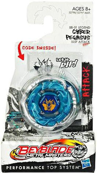Beyblade Metal Masters Cyber Pegasus Booster Pack BB-01 [Legend]