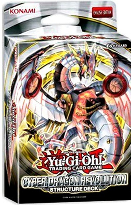 YuGiOh Trading Card Game Cyber Dragon Revolution Structure Deck [Unlimited Edition]
