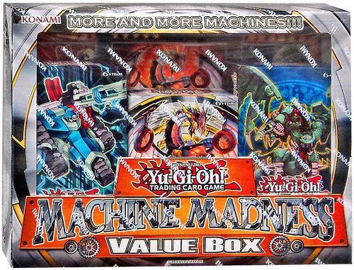 YuGiOh Trading Card Game Structure Deck Machine Madness Value Box [Machina Mayhem, Cyber Dragon Revolution & Machine Revolt]