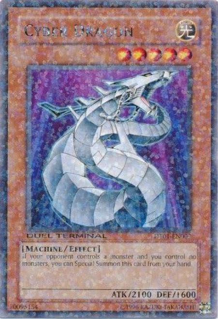 YuGiOh YuGiOh 5D's Duel Terminal 1 Parallel Rare Cyber Dragon DT01-EN009