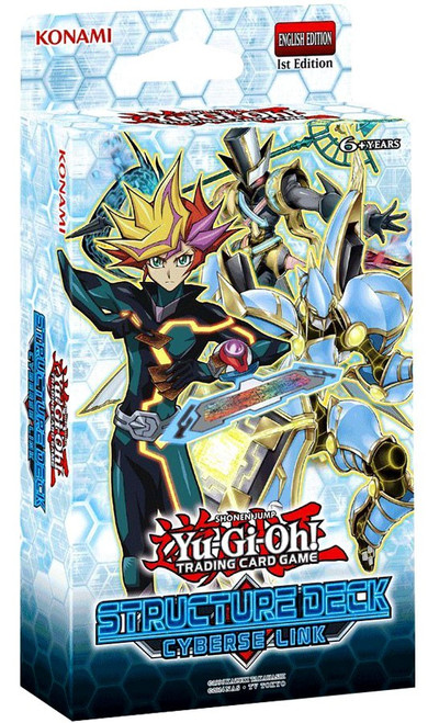 YuGiOh Trading Card Game Cyberse Link Structure Deck