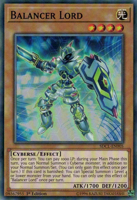 YuGiOh Structure Deck: Cyberse Link Common Balancer Lord SDCL-EN005