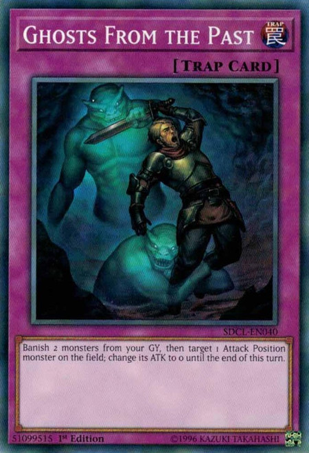 YuGiOh Structure Deck: Cyberse Link Common Ghosts From the Past SDCL-EN040