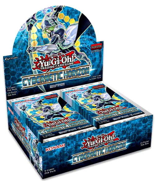 YuGiOh Trading Card Game Cybernetic Horizon Booster Box [24 Packs]