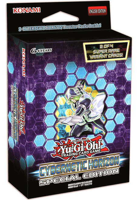 YuGiOh Trading Card Game Cybernetic Horizon Special Edition [3 Booster Packs & 1 Random Promo Card!]