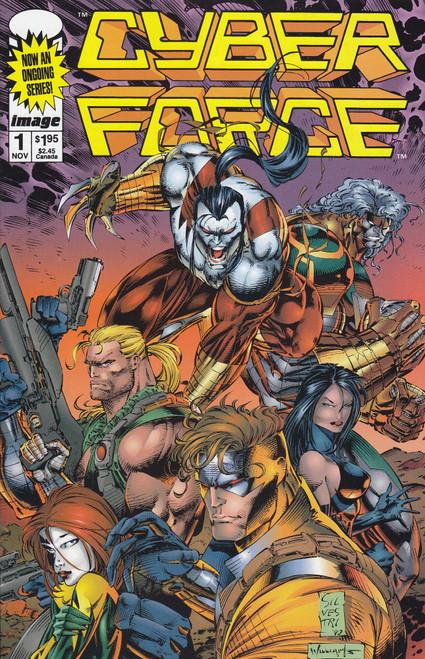 Image Comics Vol. 2 Cyber Force #1 Comic Book