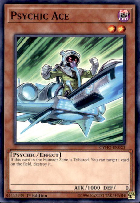 YuGiOh Cybernetic Horizon Common Psychic Ace CYHO-EN023