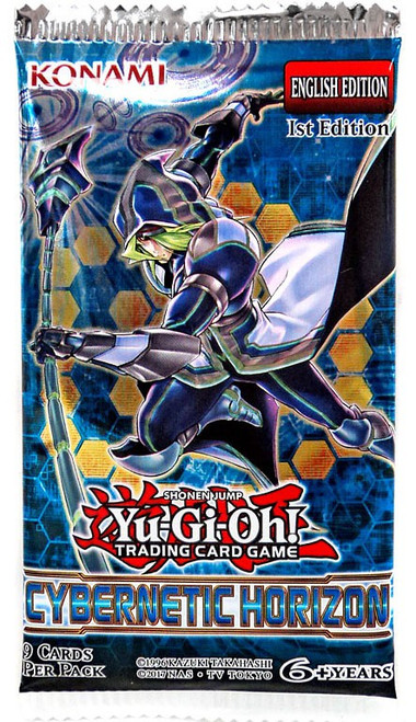 YuGiOh Trading Card Game Cybernetic Horizon (1st Edition) Booster Pack