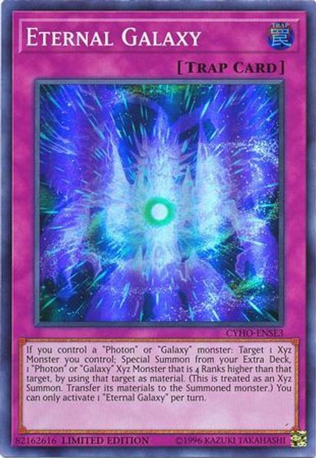 YuGiOh Cybernetic Horizon Super Rare Eternal Galaxy CYHO-ENSE3
