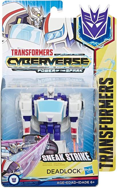 Transformers Cyberverse Power of the Spark Deadlock Warrior Action Figure [Sneak Strike]