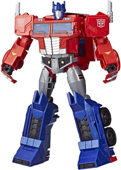 Transformers Cyberverse Power of the Spark Optimus Prime Ultimate Action Figure [Matrix Mega Shot]