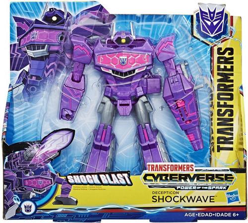 Transformers Cyberverse Power of the Spark Shockwave Ultra Action Figure [Shock Blast]