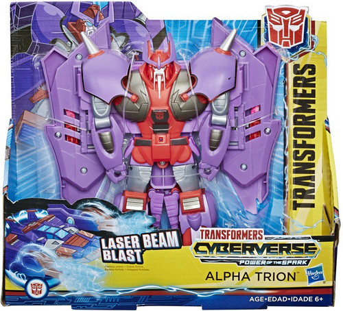 Transformers Cyberverse Power of the Spark Alpha Trion Ultra Action Figure [Hive Swarm]