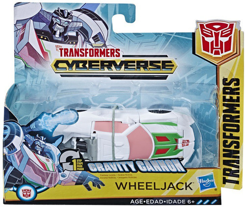 """Transformers Cyberverse 1 Step Changer Wheeljack 4.25"""" Action Figure [Gravity Cannon]"""