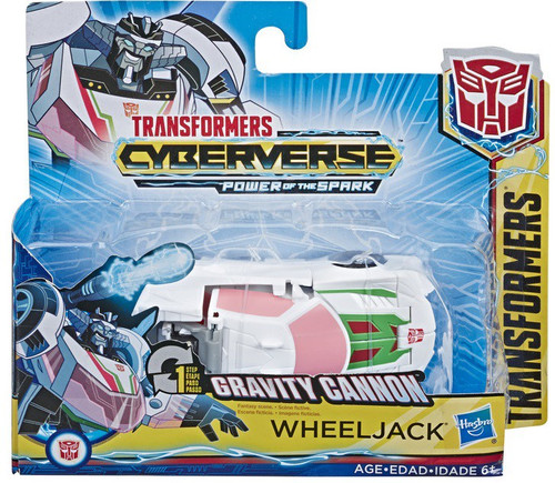 "Transformers Cyberverse Power of the Spark 1 Step Changer Wheeljack 4.25"" Action Figure [Gravity Cannon, Power of the Spark]"