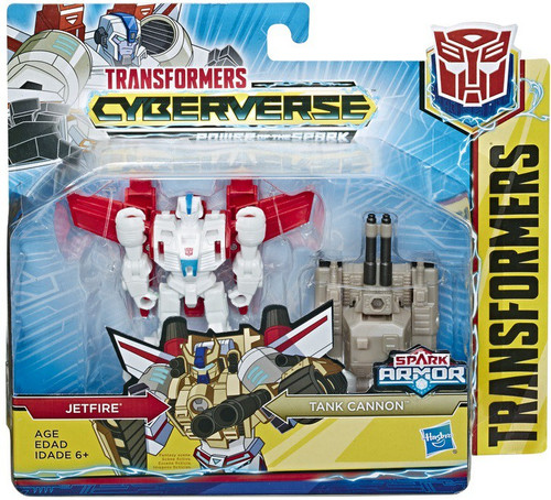 Transformers Cyberverse Power of the Spark Spark Armor Jetfire Battle Class Action Figure [Tank Cannon] (Pre-Order ships November)