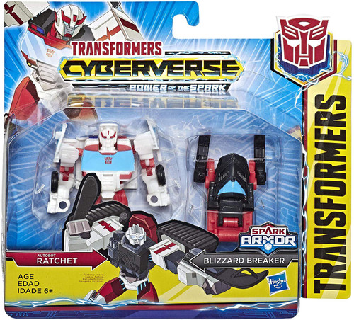 Transformers Cyberverse Power of the Spark Spark Armor Rachet Battle Class Action Figure