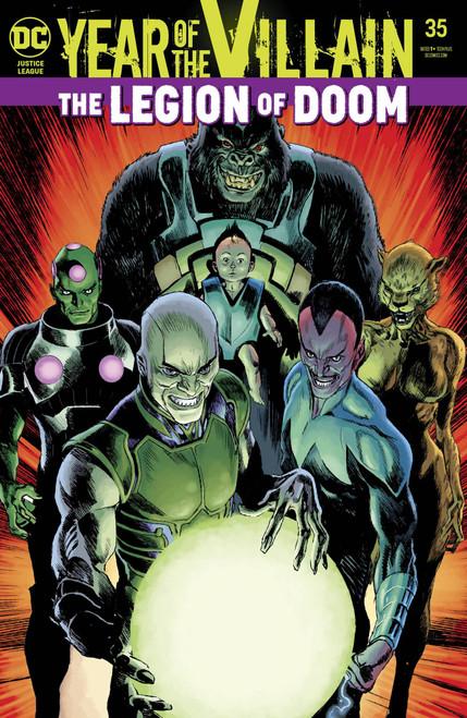 DC Justice League #35 Comic Book