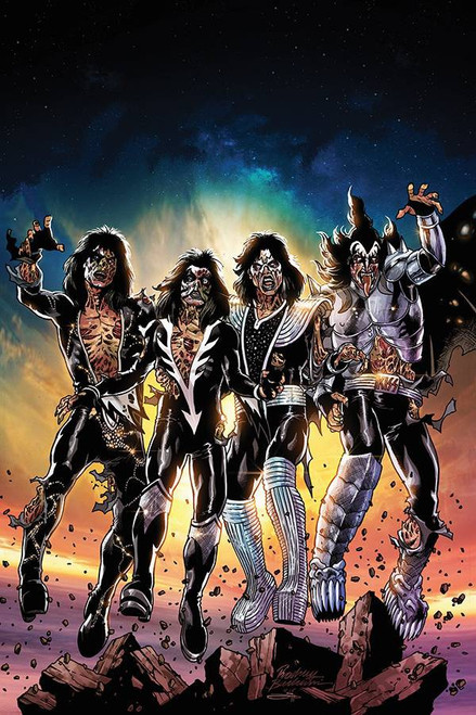 Dynamite Entertainment Kiss Zombies #1 Comic Book [Rodney Buchemi Virgin Cover Variant]