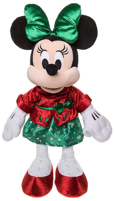 Disney 2019 Holiday Minnie Mouse Exclusive 15-Inch Plush [Red Jacket, Green Skirt]