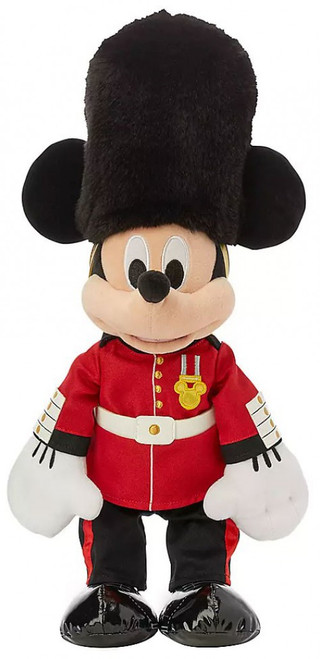Disney World Showcase Mickey Mouse Queen's Guard Exclusive 16-Inch Plush