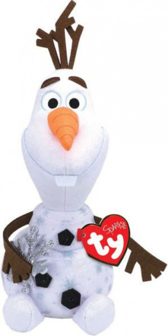 Disney Frozen Frozen 2 Beanie Baby Olaf Exclusive 13-Inch Plush [with Snowflake]