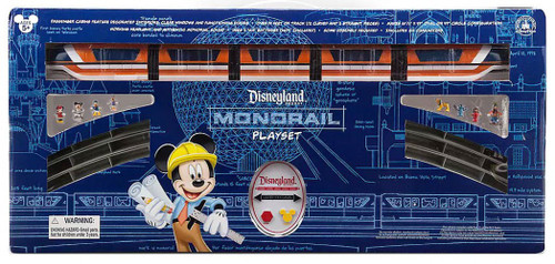 Disneyland Resort Monorail Exclusive Play Set