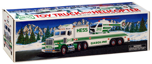 Hess Toy Truck & Helicopter [1995]