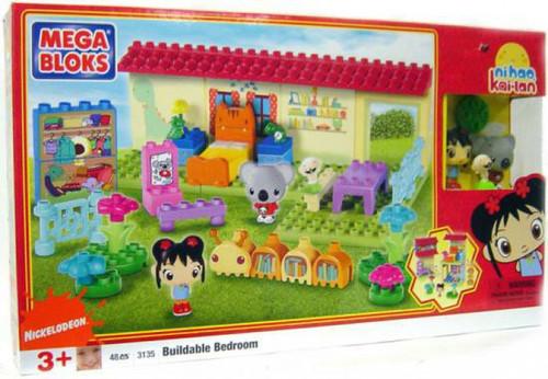 Mega Bloks Ni Hao, Kai-lan Buildable Bedroom Set #3135