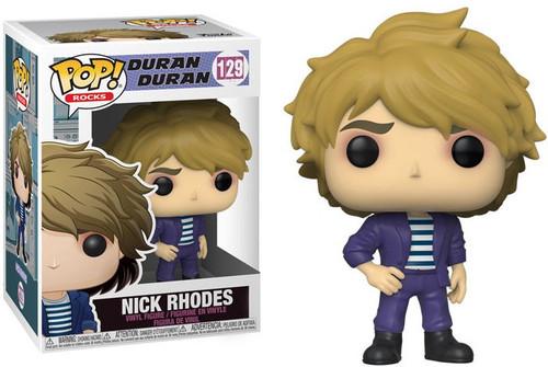 Funko Duran Duran POP! Rocks Nick Rhodes Vinyl Figure #129