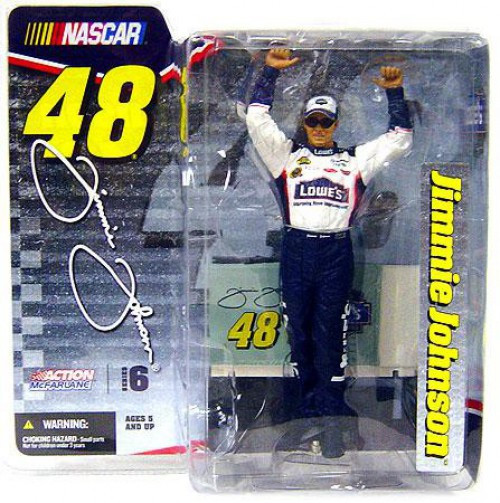 McFarlane Toys NASCAR Series 6 Jimmie Johnson Action Figure [Damaged Package]
