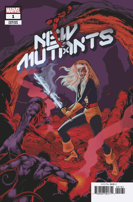 Marvel Comics New Mutants #1 Comic Book [Bob McLeod Hidden Gem Variant Cover]