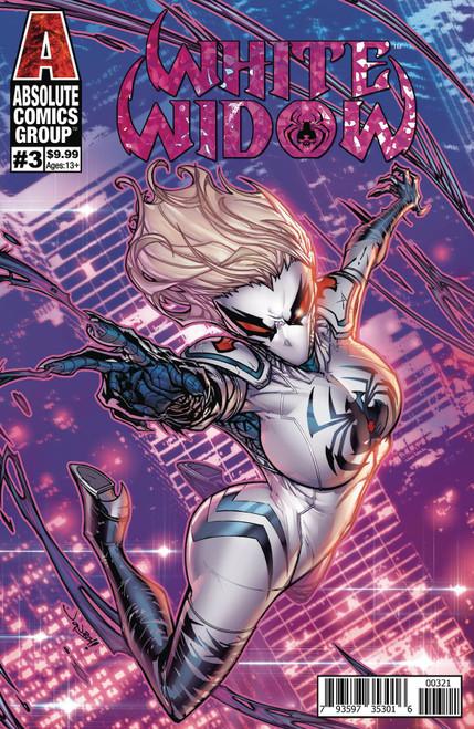 Absolute Comics Group White Widow #3 Comic Book [Jonboy Meyers Cover B Variant]