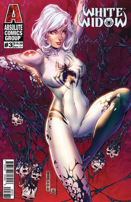 Absolute Comics Group White Widow #3 Comic Book [Mike Debalfo Lenticular Cover C Variant]